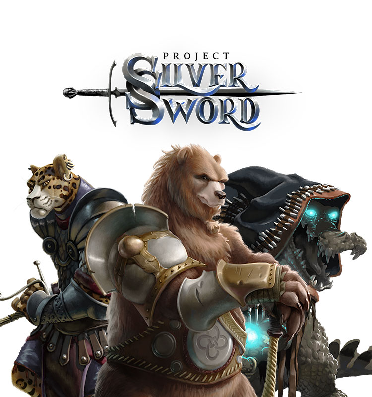 <i>Project Silver Sword</i><span>Character design</span>