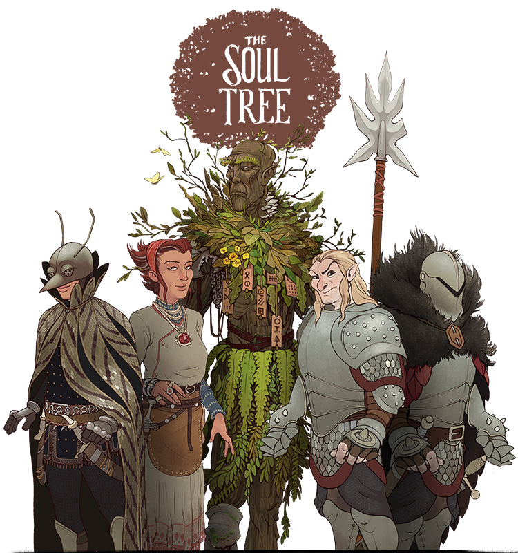 <i>Project Soul Tree</i><span>Character design</span>